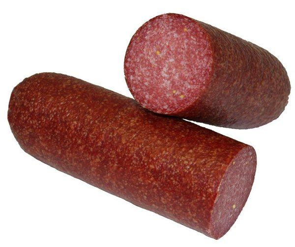 Summer sausage from brookfront farms