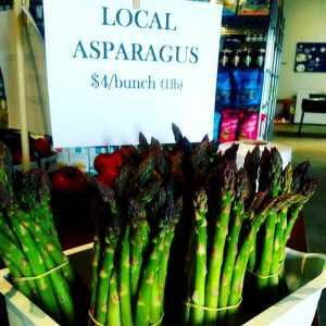 Mouthwatering Asparagus from Brookfront Farms
